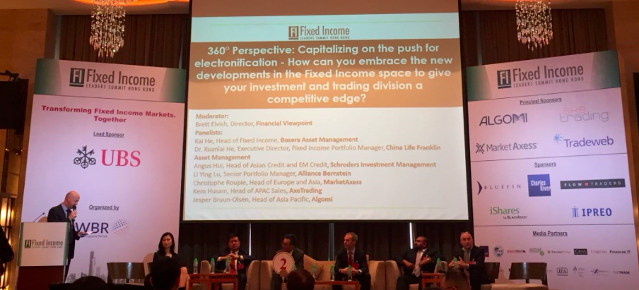 The Theme for the Fixed Income Leaders Summit HK - China, China, China