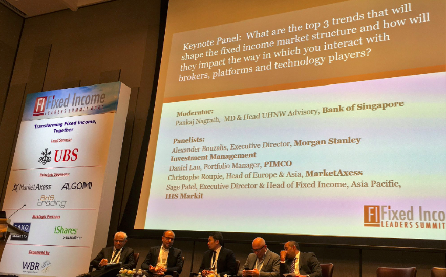 Fixed Income Leaders Summit Singapore - China and eTrading
