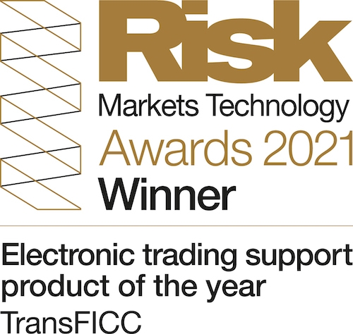 TransFICC Awarded Electronic Trading Support Product  of the Year