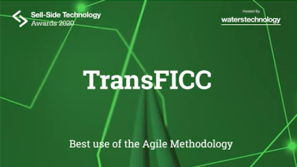TransFICC Recognised for the Best Use of Agile