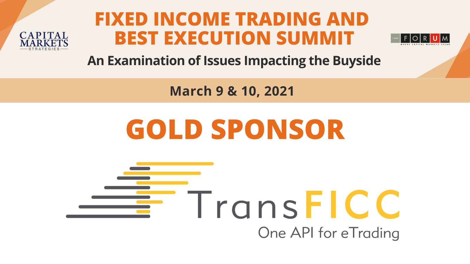 Join Us at the FI Trading & Best Execution Summit